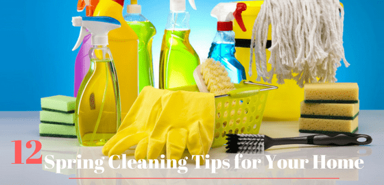 12 Spring Cleaning Tips for Your Home